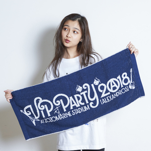 VIP PARTY 2018 LOGO JACQUARD FACE TOWEL (NAVY)
