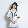 BASEBALL SHIRT (WHITE STRIPE)