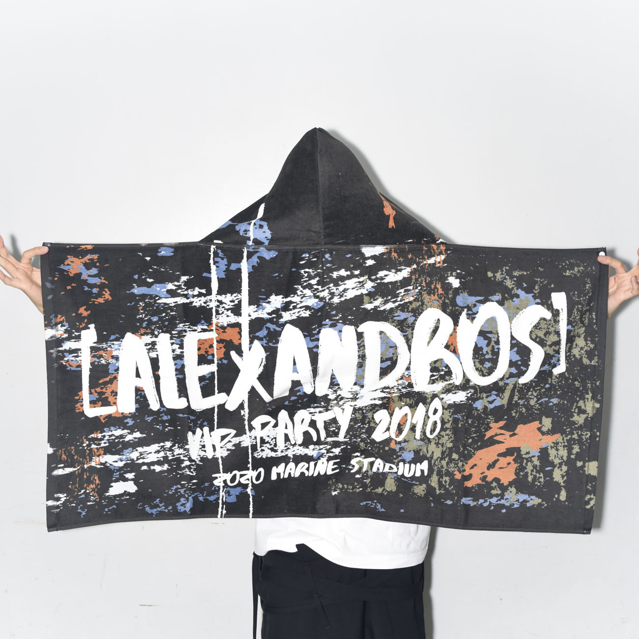 VIP PARTY 2018 HOOD BATH TOWEL