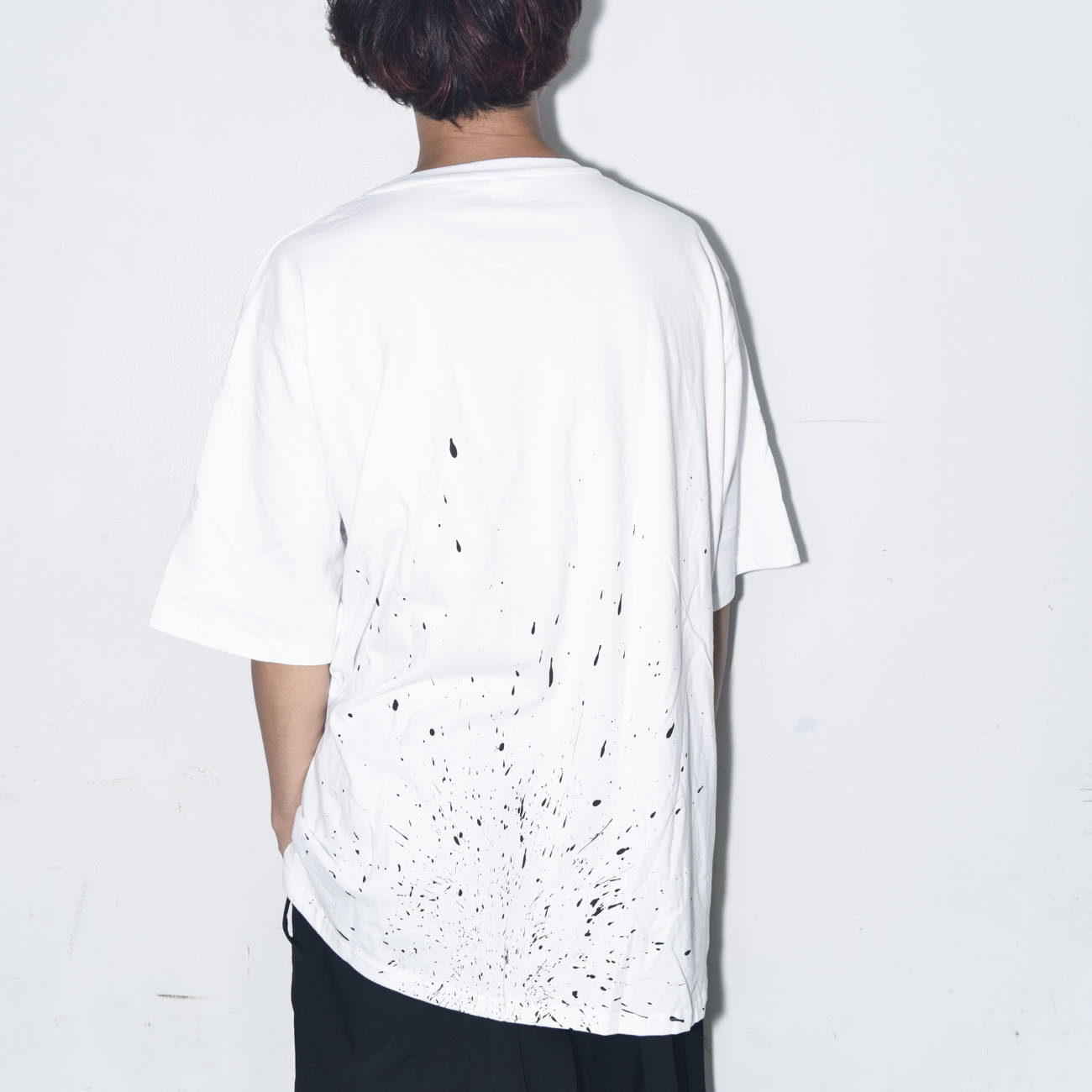 BIG SILHOUETTE TEE 2018 SUMMER (WHITE)
